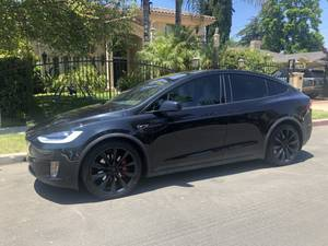 2016 Tesla model X P90D + LUDICROUS *LOW MILES* + CUSTOM (sherman oaks) $77000