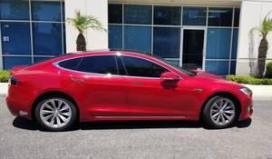 2016 S Red Tesla (Mission viejo) $58000