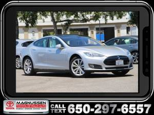 2014 Tesla Model S Performance (Magnussen's Toyota of Palo Alto)
