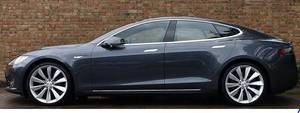 Midnight Silver Pristine Tesla S70D (san jose south) $50000