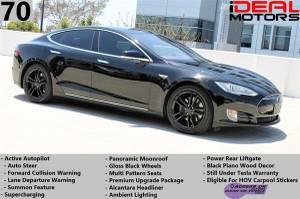 2015 Tesla Model S 70 Sedan 4D For Sale (+ iDeal Motors) $40988