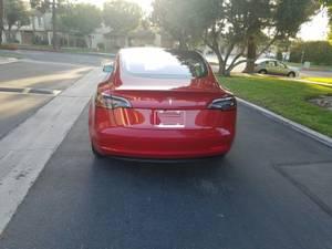 Tesla model 3 long range Red (north beach / telegraph hill) $45500