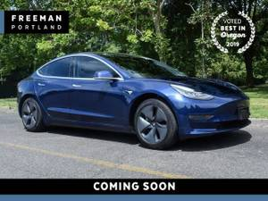 2018 Tesla Model 3  Long Range Autopilot Pano Nav Heated Seats Sedan (Freeman Motor Company) $46995