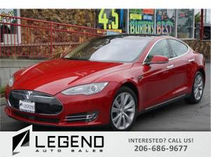 2014 Tesla Model S Sedan 4D Sedan Model S Tesla (Call us at: (206) 626-9677) $41991