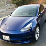Tesla Model 3, vin #000093 (Santa Monica) $55000