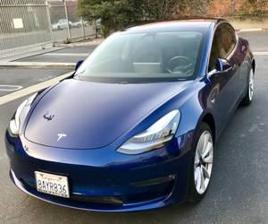 Tesla Model 3, vin #000093 (Santa Monica) $55000