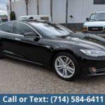 2014 Tesla Model S 85 Sedan Free One Year Warranty OAV (Biggest Selection Of Commercial Vehicles In SoCal)