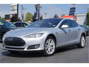 2016 Tesla Model S 85 Sedan 4D – sedan (Tesla Model_ S Silver) $52991