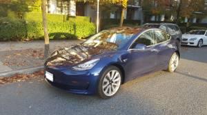2018 Tesla Model 3 Full Premium AWD Long Range full option (Vancouver) $88900