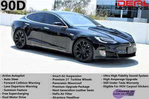 2016 Tesla Model S 90D Sedan 4D For Sale (+ iDeal Motors) $63988