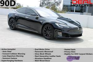 2016 Tesla Model S 90D Sedan 4D For Sale (+ iDeal Motors) $57988