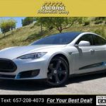 2015 Tesla Model S P85D sedan Silver (CALL 657-208-4073 FOR AVAILABILITY) $55985