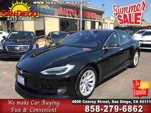 2017 Tesla Model S 75 ' Air Suspension ' All Glass Top ' SKU:22263 Tes (San Diego Auto Finders) $50955
