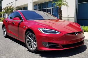 2016 Red Tesla Model S 75D (Rancho Santa Margarita) $58000