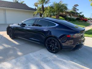 2015 Tesla Model S 60 Sedan 4D AutoPilot Upgrade Turbine Wheels (Fullerton) $41990