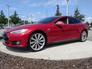 2015 Tesla Model S P85D With Ludicrous Factory Upgrade $39500