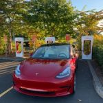 Red Tesla Model 3 – Performance (0-60 in 3.2 sec) (Irvine) $58750