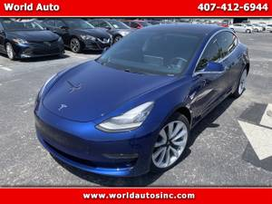 2018 Tesla Model 3 Mid Range RWD $729 DOWN $165/WEEKLY (407-770-7123) $1