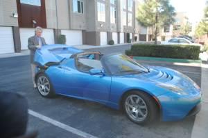 Tesla Roadster #31 (2008) (Santa Ana) $45000