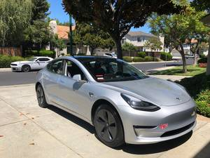 Tesla 3 2018 Long Range (willow glen / cambrian) $46000