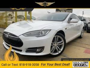 2013 Tesla Model S sedan (CALL 818-918-3058 FOR AVAILABILITY) $30999