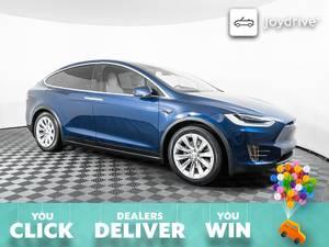2017-Tesla-Model X-7-All Wheel Drive (Tesla Model X 75D) $73999