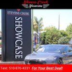 2015 Tesla Model S P90D Ludicrous + Mode sedan Gray Metallic (CALL 510-876-4331 FOR INTERNET PRICE) $69995