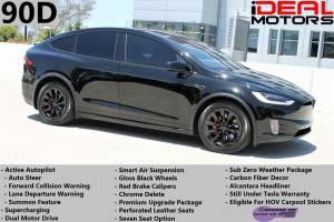 2016 Tesla Model X 90D Sport Utility 4D For Sale (+ iDeal Motors) $72988