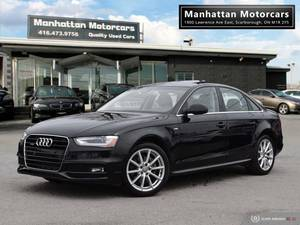 2015 AUDI A4 AWD PROGRESSIV PLUS S-LINE |NAV|PRKASSIST|HID|PHONE (SCARBROUGH) $20488