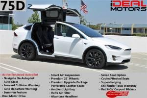 2016 Tesla Model X 75D Sport Utility 4D For Sale (+ iDeal Motors) $73988