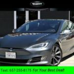 2016 Tesla Model S 90D AUTOPILOT sedan Midnight Silver Metallic (CALL 657-255-8175 FOR AVAILABILITY) $56500