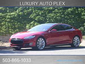 2014 Tesla Model S Electric P85 Sedan (Luxury Auto Plex) $44888