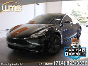 2018 Tesla Model 3 Long Range – Autopilot! (Orange County) $45995