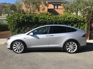 Tesla Model X Sport Utility P90D with Ludicrous mode (pacific heights) $70000