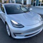 2018 Tesla Model 3 long range, silver, premium wheels, full self drive (san jose south) $48500