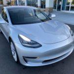 2018 Tesla Model 3 long range, silver, premium wheels, full self drive (san jose south) $48500